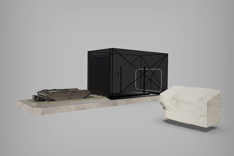 3D Cinema Studio 5m width